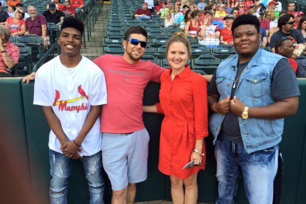 Employees at Memphis Redbirds Game