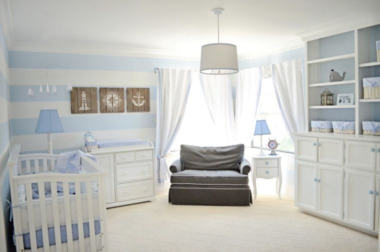 decor-bedrooms-for-baby-boys-with-baby-boy-nautical-nursery ...